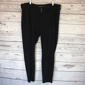 Torrid Black Stretchy Skinny Trousers Size 20
